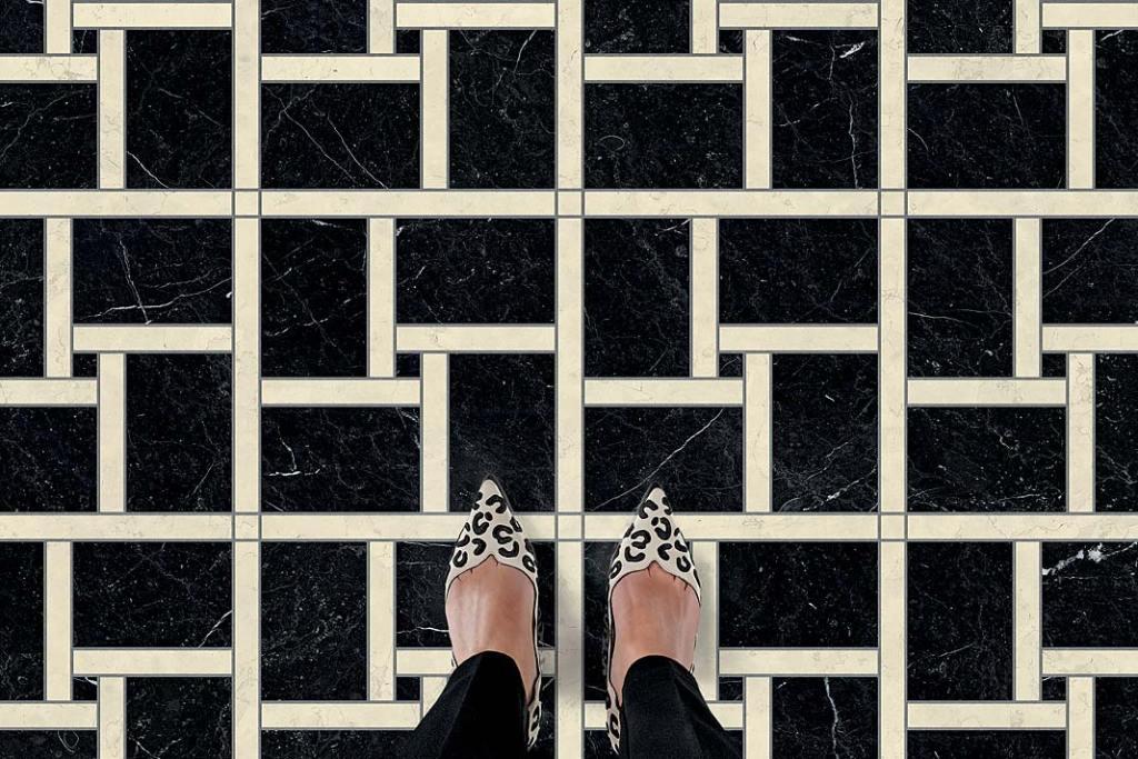 Marmurowa mozaika Marmo marki Bisazza