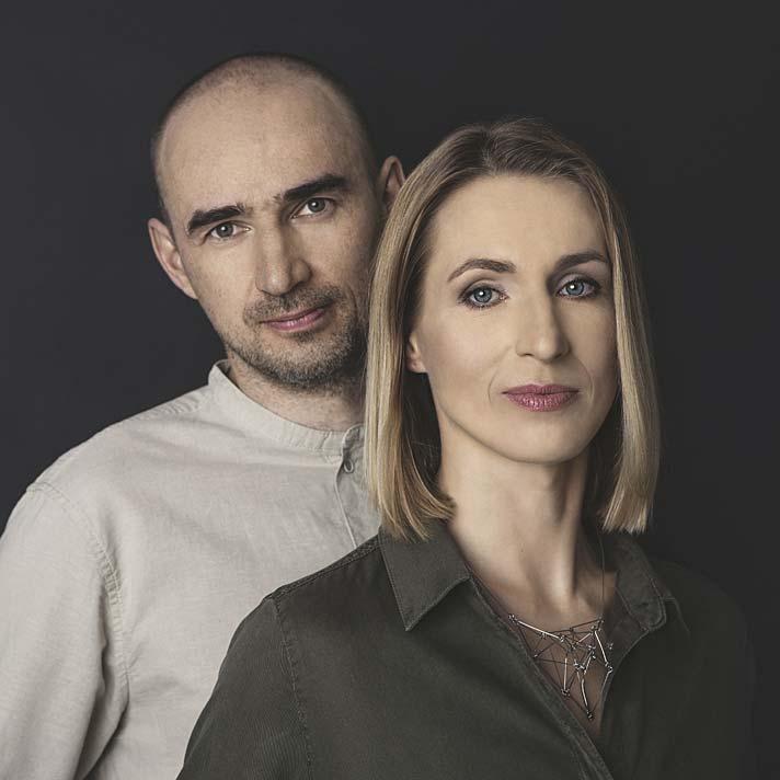 Monika i Adam Bronikowscy, właściciele pracowni Hola Design