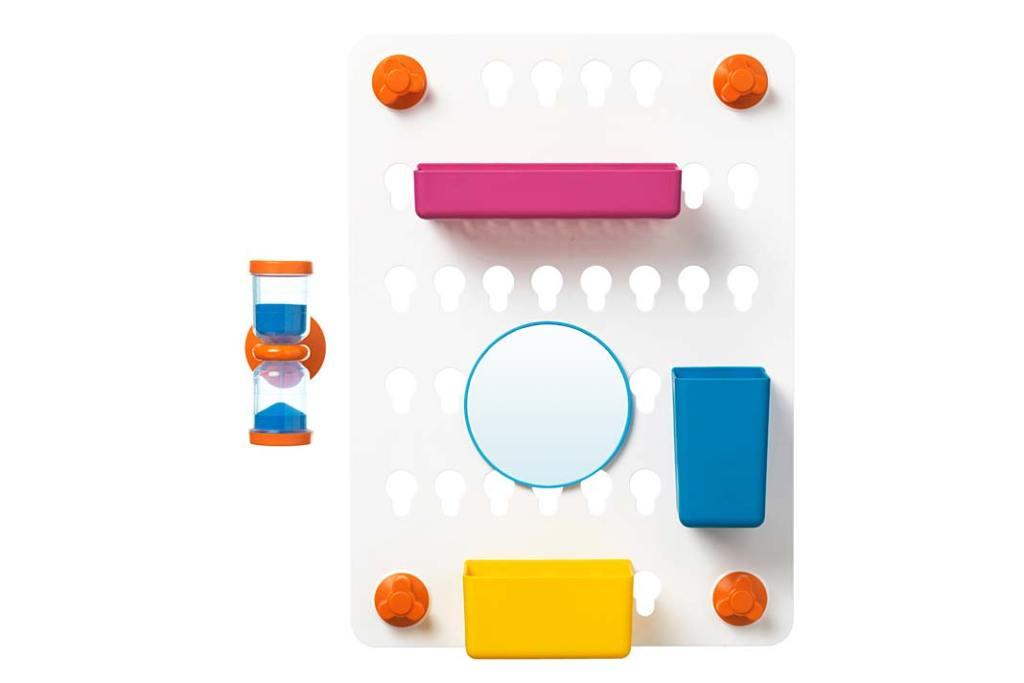 Organizer łazienkowy Laddan od IKEA