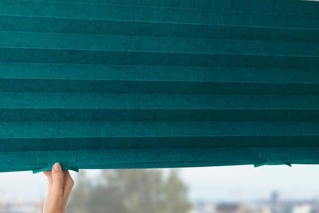 Dekoracja okien. Plisowana żaluzja IKEA Sommar