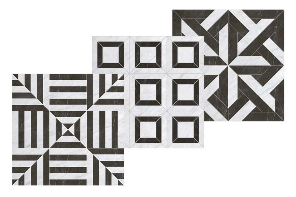 Płytki w mozaikowe wzory Elite z Devon&Devon