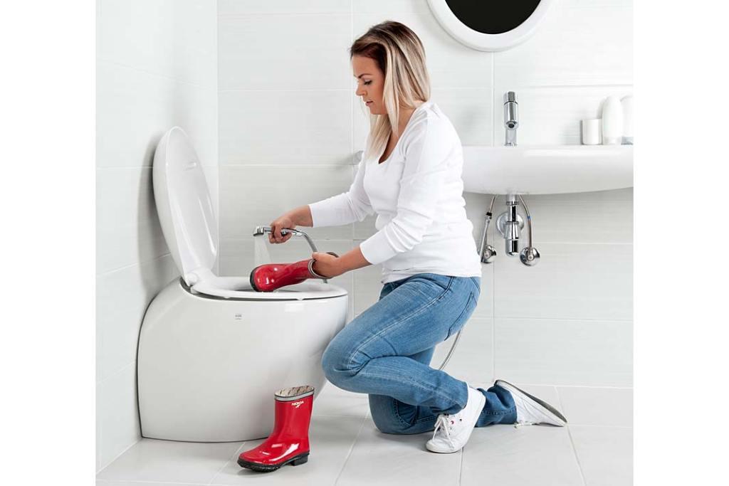 Rączka Oras Bidetta przyda się w rodzinnej łazience