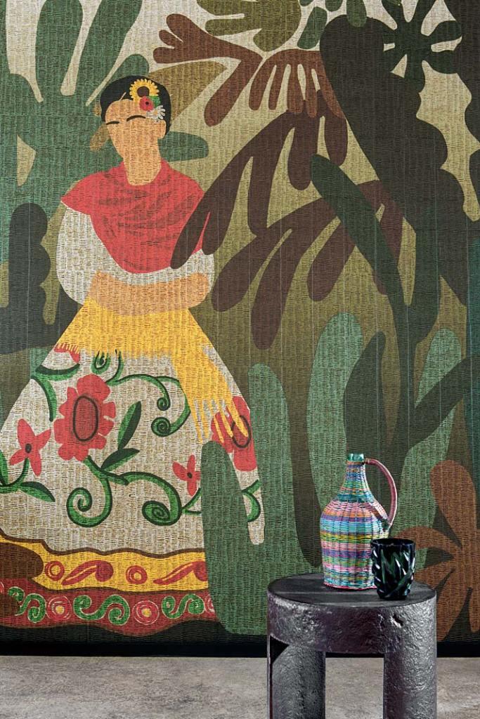 Winylowe tapety, wzór Passion de diego z kolekcji NaturalMood marki Elitis