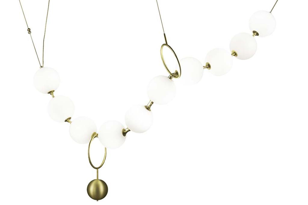Nowoczesne lampy. Żyrandol Coco marki Larose Guyon