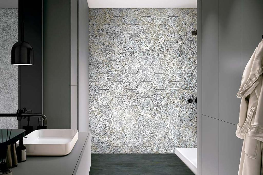 Ceramiczne płytki łazienkowe Inedita marki Apavisa z oferty Greston