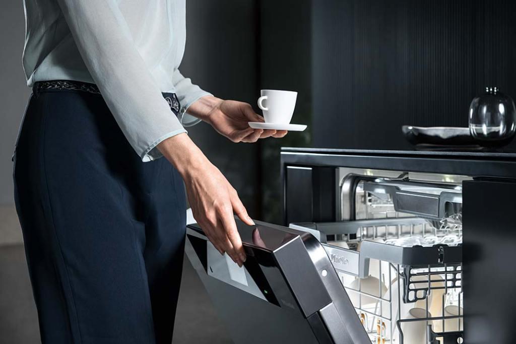 Jak oszczędzać wodę w kuchni, zmywarka GEN 5000 marki Miele