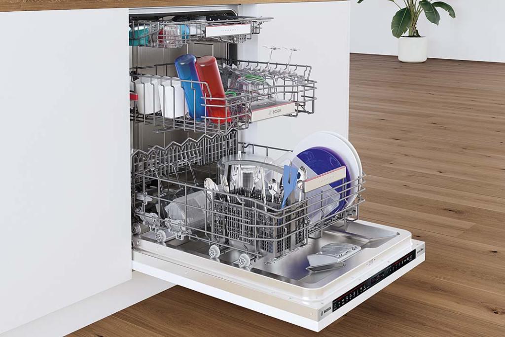 Jak oszczędzać wodę w kuchni, zmywarka SMV8YCX01E marki Bosch