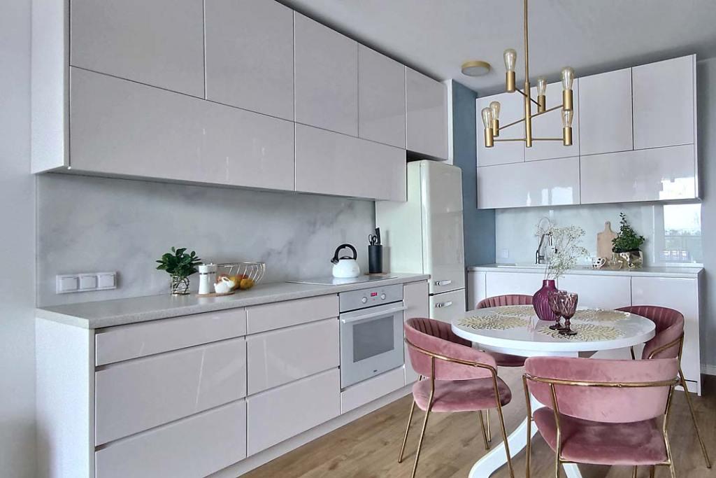 Jak rozmieścić gniazdka elektryczne w kuchni. Projekt aneksu Sylwia Kowalczyk, Silvia Art