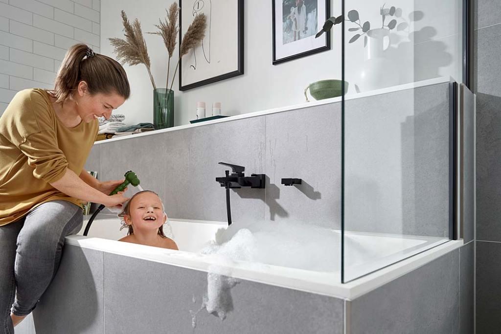 Łazienka dla dzieci, słuchawka prysznicowa Jocolino od Hansgrohe