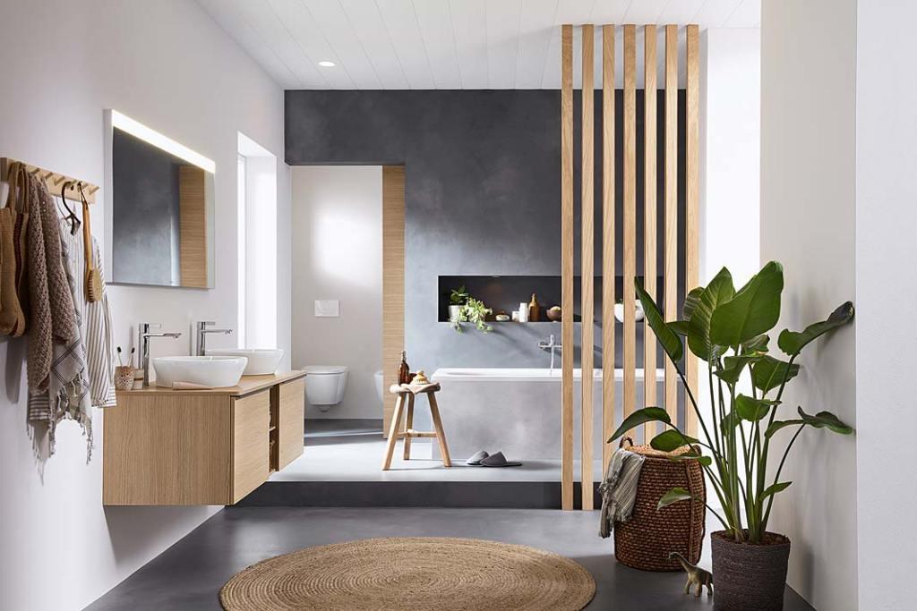 Meble łazienkowe D-Neo marki Duravit. Projekt Bertrand Lejoly