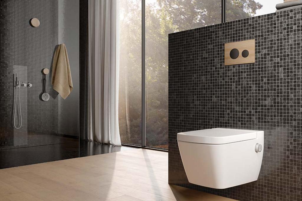 Prosta, kompaktowa toaleta myjąca TECEone