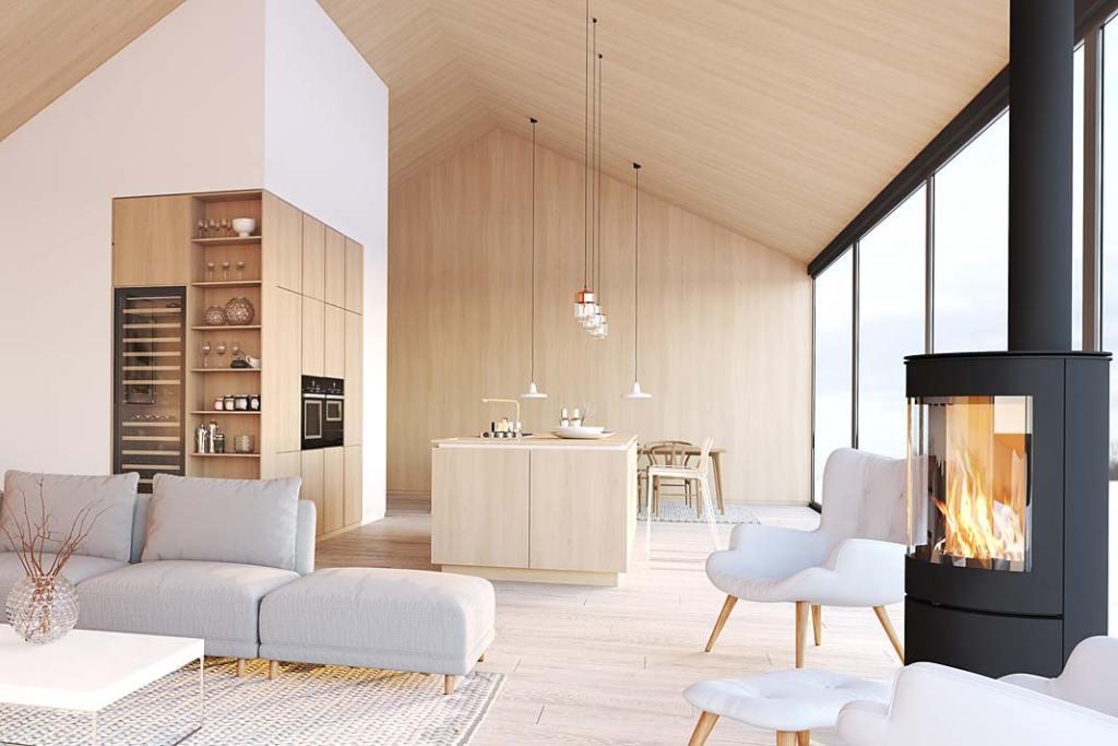 RuckZuck, salon w stylu New Nordic
