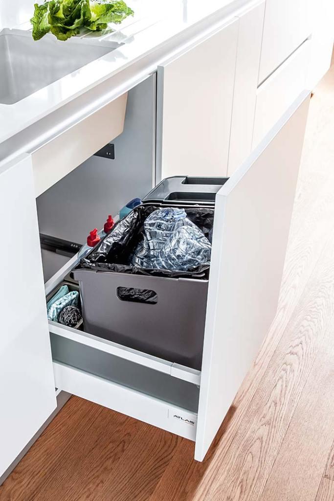 System segregacji odpadów Peka do szafki pod zlewem