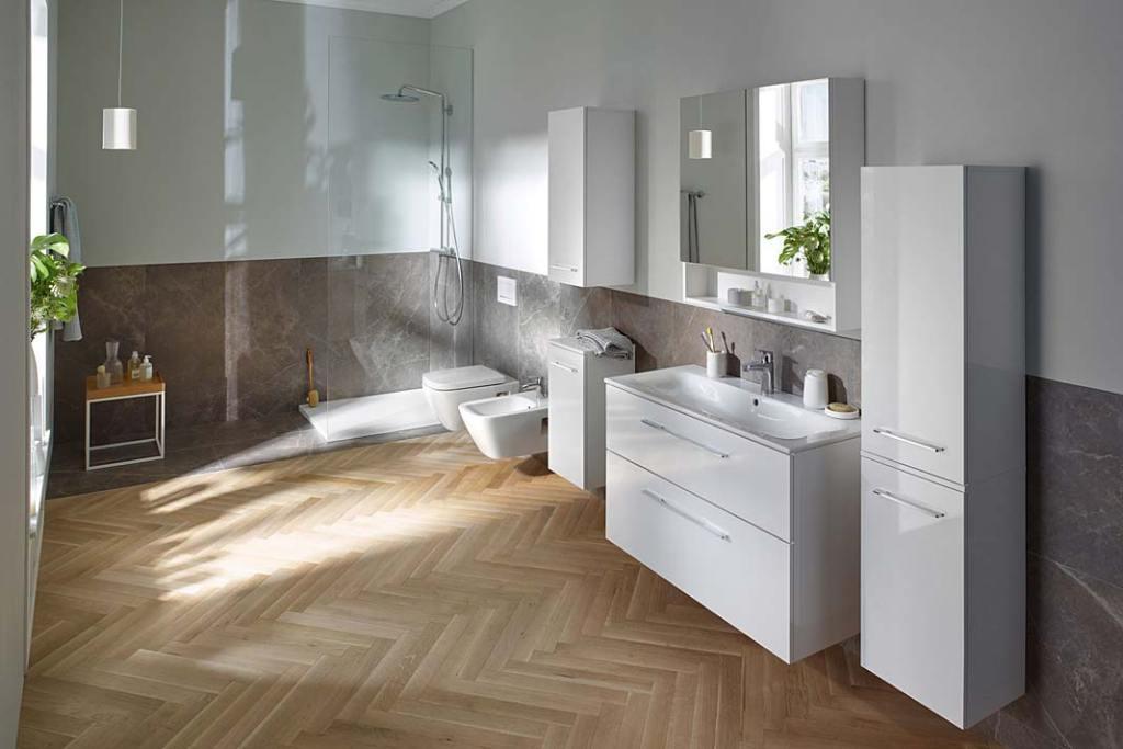 Szafka pod umywalkę z szufladami, kolekcja Nova Pro Premium marki Koło