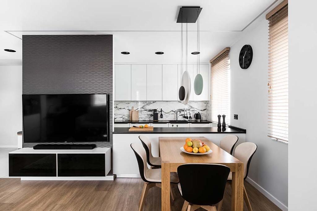 Jak rozmieścić gniazdka elektryczne w kuchni Projekt Studio Projekt