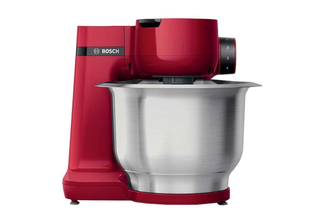 Kolorowa kuchnia, robot kuchenny MUM Serie 2 marki Bosch