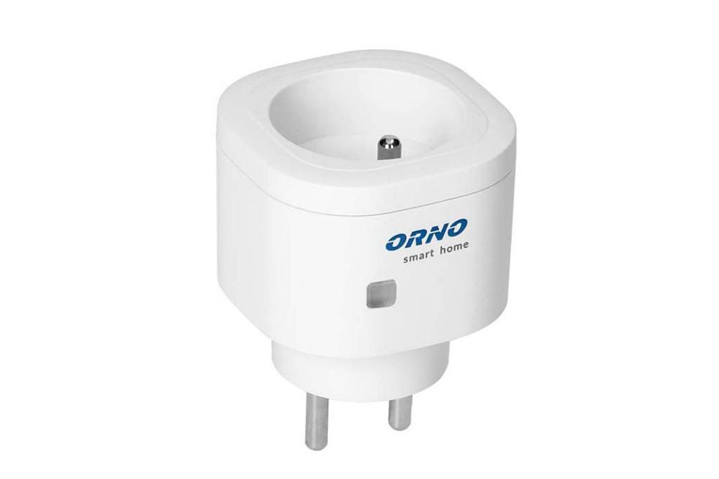 ORNO Smart Home, gniazdo centralne sterujące pracą przekażników i kontaktów w domu