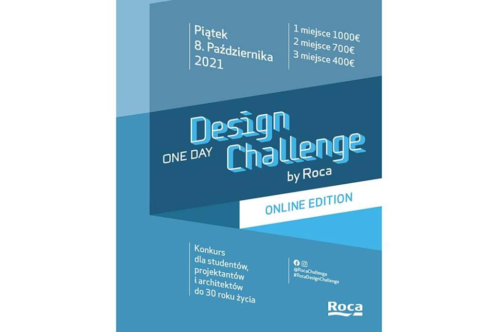 One Day Design Challenge by Roca 2021, plakat