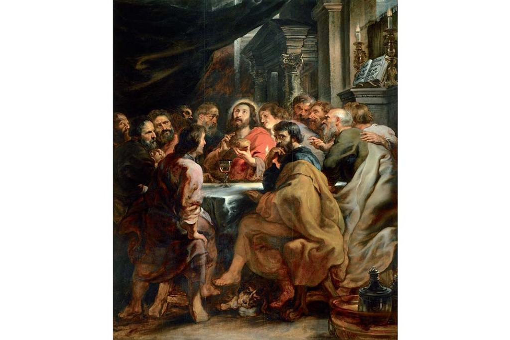 Peter Paul Rubens, Ostatnia wieczerza, ok.1631–1632, olej nadesce, 304x250cm