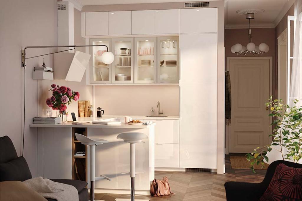 Pomysł na kuchnię. Lampa Simrishamn IKEA