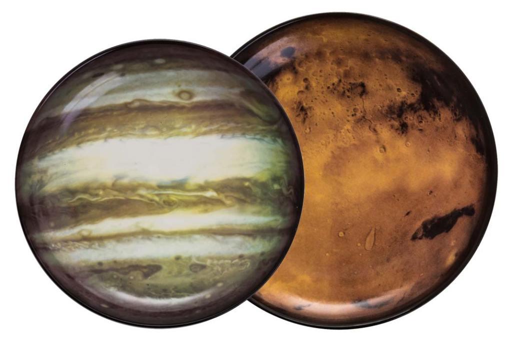 Talerze Cosmic Diner Venus i Jupiter marki Seletti